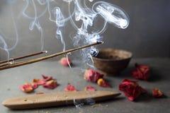 Incense el palillo Aromatherapy Fotografía de archivo