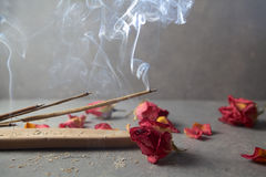 Incense el palillo Aromatherapy Foto de archivo