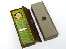Incense gift set Royalty Free Stock Photo