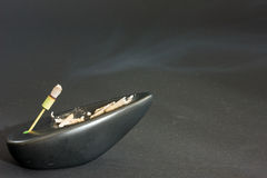 Incense holder Stock Images