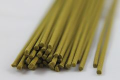 Incense. Sticks green Stock Images