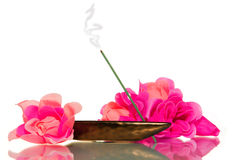 Incense for Meditation Royalty Free Stock Image