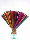 Incense Multicolored Stock Photos