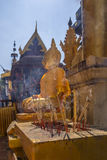Wat Phra esse Lampang Luang - Tailândia Imagem de Stock Royalty Free