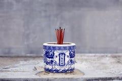 Incense Pot Stock Photography