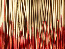 Incense with red stick Royalty Free Stock Images