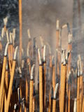 Incense rising Stock Photos