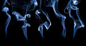 Incense smoke abstract Stock Photography