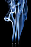 Incense smoke abstract Royalty Free Stock Photography
