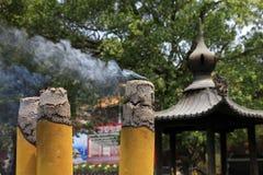 Incense smoke Royalty Free Stock Photography