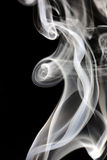 Incense smoke Stock Images
