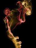 Incense smoke trails Stock Image