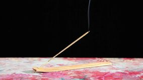 Incense stick stock footage