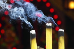 Incense Stick. Close-up shot of Incense Stick Stock Photography