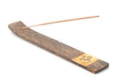 Incense stick and incense holder Royalty Free Stock Images