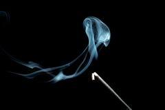 Incense stick with smoke Royalty Free Stock Photos