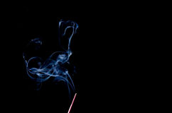 Incense Stick with Smoke Royalty Free Stock Photo
