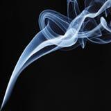 Incense Stick Smoke Trail Stock Photo
