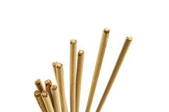 Incense stick on white background isolated Stock Photos