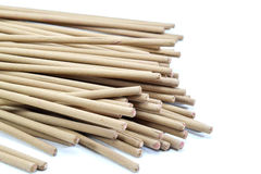 Incense stick on white background isolated Stock Images