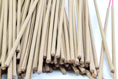 Incense stick on white background isolated Royalty Free Stock Photography