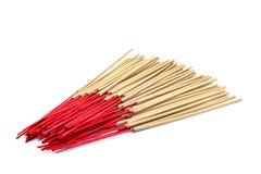 Incense stick on white background isolated Royalty Free Stock Image