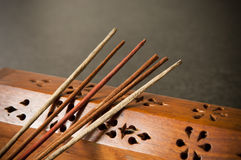 Incense Sticks Stock Photo