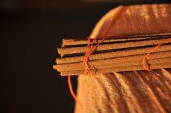 Incense sticks. Pack of handmade incense sticks Royalty Free Stock Image
