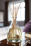 Incense sticks. On bedside table Royalty Free Stock Photos