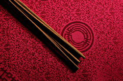 Incense sticks royalty free stock photos