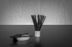 Incense sticks Stock Photos