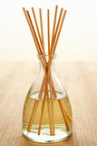 Incense sticks in carafe Royalty Free Stock Images