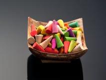 Incense sticks cones Stock Image