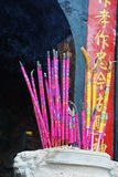 Incense sticks in the incense burner Royalty Free Stock Photos