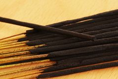 Incense sticks Stock Image