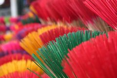 Incense sticks ready Royalty Free Stock Images
