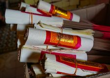 Incense sticks for sale at Chinese temple royalty free stock photos
