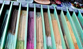 Incense sticks. The incense sticks for sale Royalty Free Stock Image