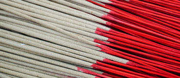 Incense Sticks. For sale at the temple Royalty Free Stock Image