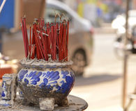Incense sticks Stock Photography
