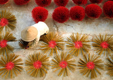 Incense sticks in sun. Incense sticks for temple in vietnam royalty free stock image