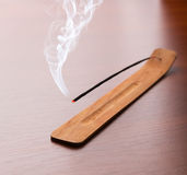 Incense sticks on the table Stock Image