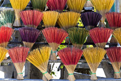 Incense sticks in Vietnam Royalty Free Stock Photos