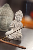 An incense on the table at home Stock Photography