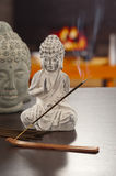 An incense on the table at home Royalty Free Stock Photos