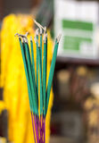 Incense. In the temple, Thailand Stock Photos