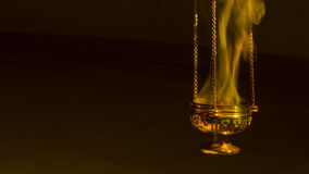 Incense in a thurible Royalty Free Stock Photos