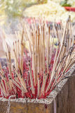 Incense to worship God Stock Photos