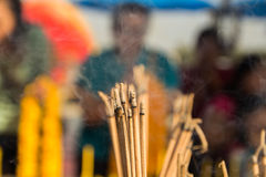Incense for worship Stock Image
