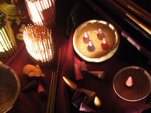 Incenses stock photo